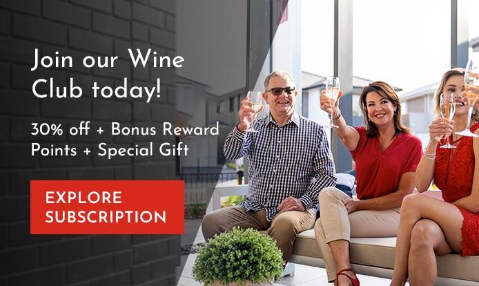 Couple Enjoying a Wine